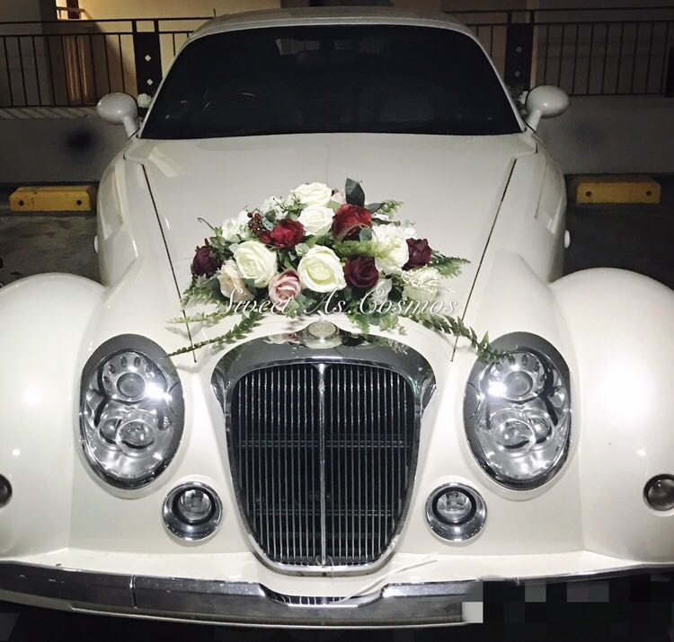 Wedding Car Decoration Gardening On Carousell