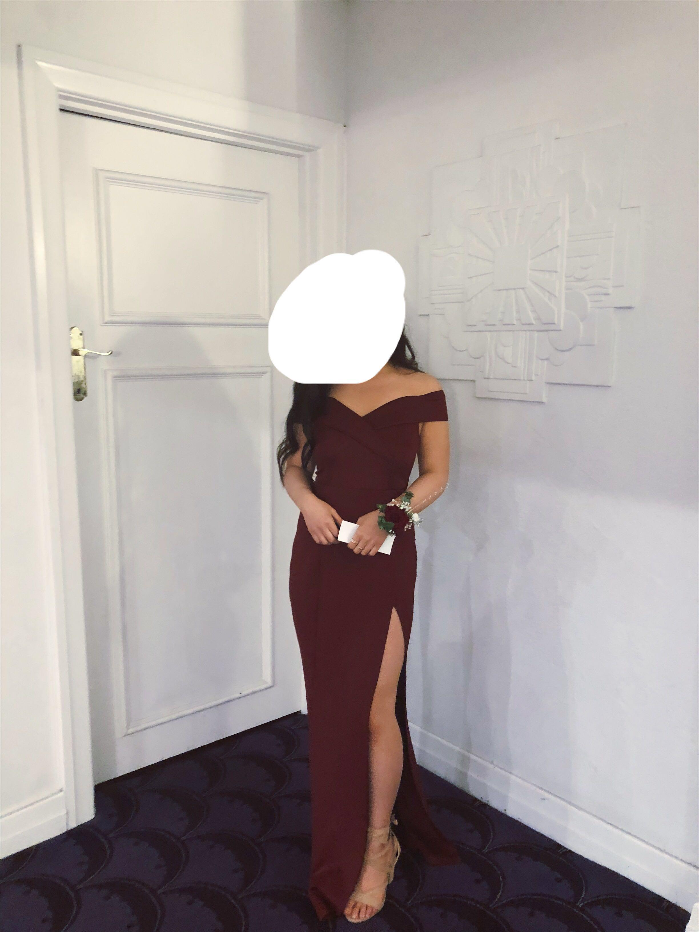 Wine/Red Formal / Ball Dress