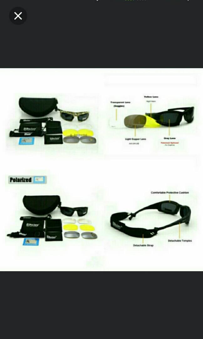 08d2fae37be0 🆕🆒Polarized Daisy X7 Army Sunglasses