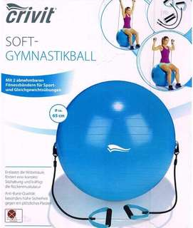 crivit gymnastics ball