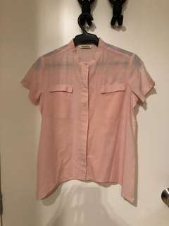 Mossimo Peach/Pale Pink Top (S)