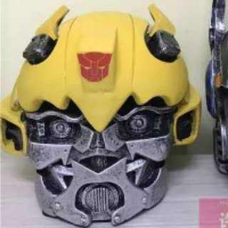 Transformer bumble bee ash tray container
