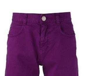 🚚 Free mailing! Shimmer Purple shorts
