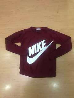 Inspired Nike Maroon Pullover