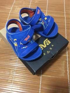 🈹💥🈹💥TEVA 型格藍色 bb鞋子 baby shoes 兒童 涼鞋 休閒鞋