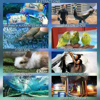 Manila Oceanpark (8 attractions)
