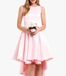 Bridesmaids High-Low Structured Dress (Small)