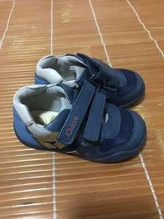 🈹💥🈹💥名牌 Chicco 型格灰藍色 bb鞋子 baby shoes 兒童 波鞋 休閒鞋