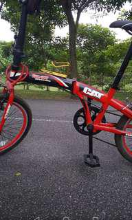 Biscycle red