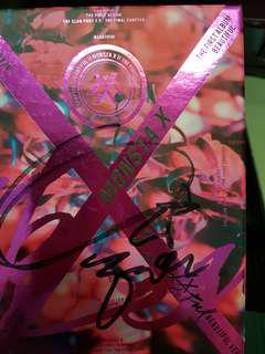 Monsta X - The First Album (Beautiful ver Hyungwon Signed)