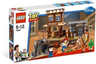 Lego 7594 Woody's Roundup!