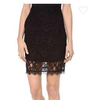 Myne Vienna Lace Pencil Skirt size 6