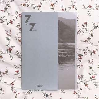 GOT7 7 FOR 7 Album (Mark) Repackage Ver