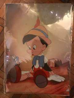 [正版]全新 迪士尼 小木偶 文件夾 Disney Pinocchio File