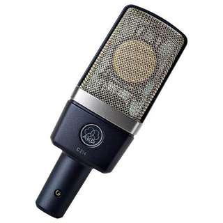 🚚 Akg c214 mic brand new from Germany 全新免運 德國🇩🇪帶回