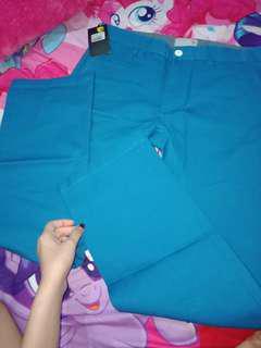 Celana panjang mens top biru