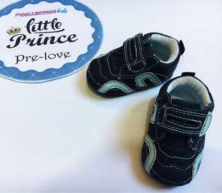 Baby Boy Navy Blue Shoes (Enfant S 11 cm)