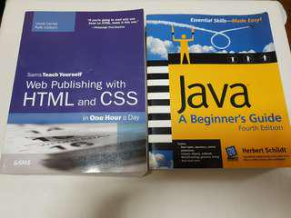 HTML and CSS Books