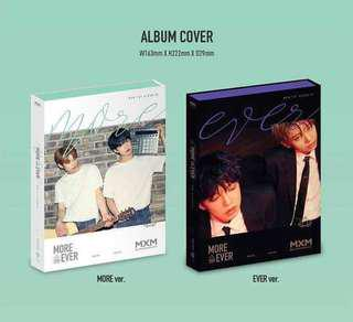 【Korea Buying Service】MXM More Than Ever 1ST Album