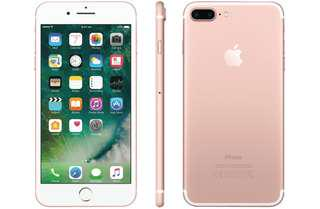 New Apple iPhone 7 Plus Rose Gold 256GB + New Accessories
