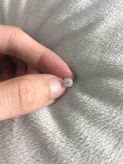 1圍9鑽石耳環