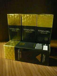 NEW TITAN GEL GOLD ASLI