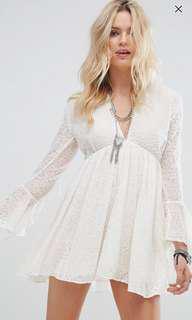 Glamorous ASOS Smock Dress in Lace