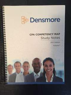 Densmore Competency Map Notes - 2017 Edition