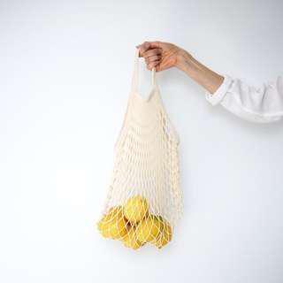 [REPRICED] SALE Fruit Produce Net Mesh Beach Bag