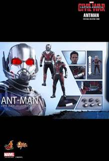 Hot Toys MMS362 DX12 Avengers 復仇者聯盟 英雄內戰 Civil War ANT-MAN 蟻俠 antman Figure 玩具狂熱