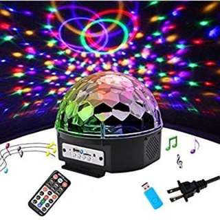 🔥  LED Crystal Magic Ball Light DJ KTV Stage Lighting Disco Lampu Mentol Disco