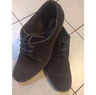 👞: (USED) Tangs Library Dark Brown Shoes For Birthday // Valentine's Day // Father's Day // Christmas Day For Him