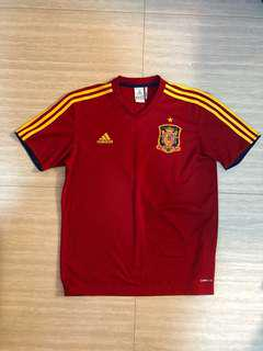 Spain National Jersey Tee Adidas (World Cup 2010) Size M