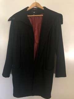 H&M long wool coat