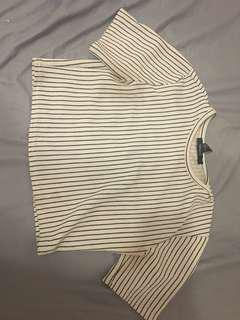 F21 crop top size s