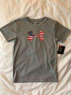 Under Armour boys America dri-fit tee for 7 years up