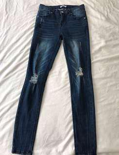 New Distressed Jeans