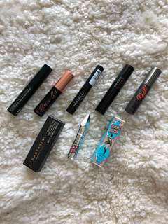 Mascara & eyebrow sampler set