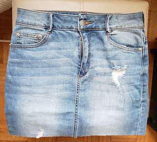 Dynamite Jean skirt XS