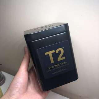 NEW T2 Buddhas Tears Green Tea 100g