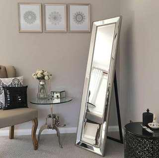 Brand new high quality cheval mirror freestanding