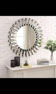 Brand new Cancun circular designer feature mirror RRP$699