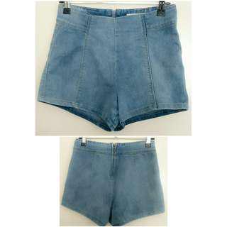 New High Waist Denim Shorts 6