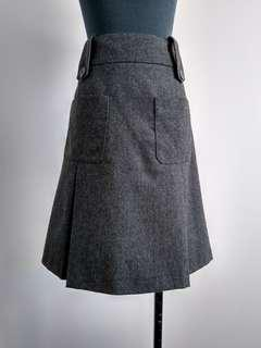 Michael Kors wool cashmere skirt AU8-10