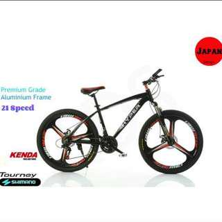 """Brand new 26""""High grade aluminum frame Mountain bike /Bicycle with Shimano Gear and Disk brakes etc"""
