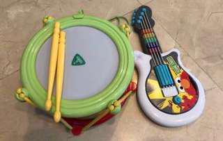 PL Musical Instruments - Drum & Guitar