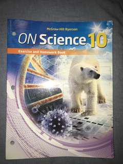 Ontario Science grade 10 workbook