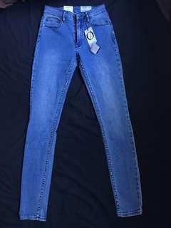 BNWT Light blue super soft super skinny jeans