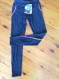 Small Crane Gym Tights New With Tags