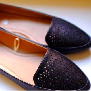 Rubi point-toe loafers